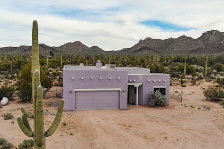 Amazing Tucson Mountain Views and Saguaros