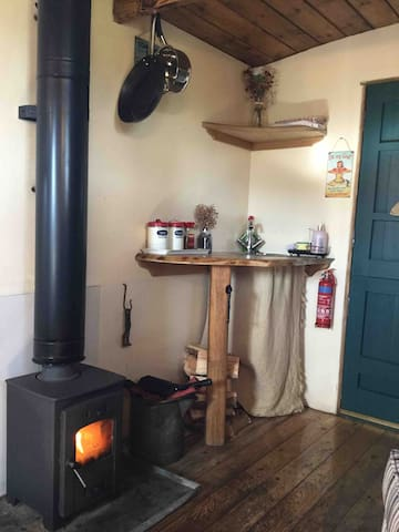 Fantastic log burner to keep you warm and snug on those chilly nights
