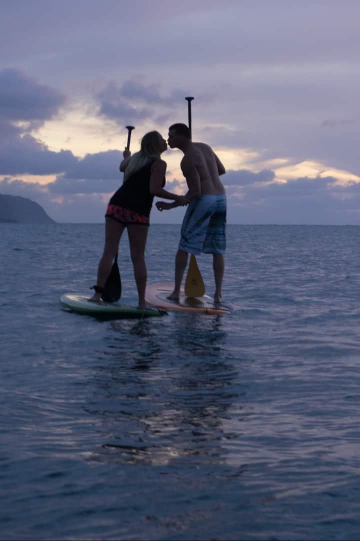 Most romantic Paddling activity