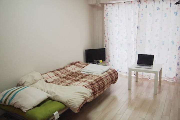 One stop from Sendai station. cozy 202 - 仙台市 - Apartment
