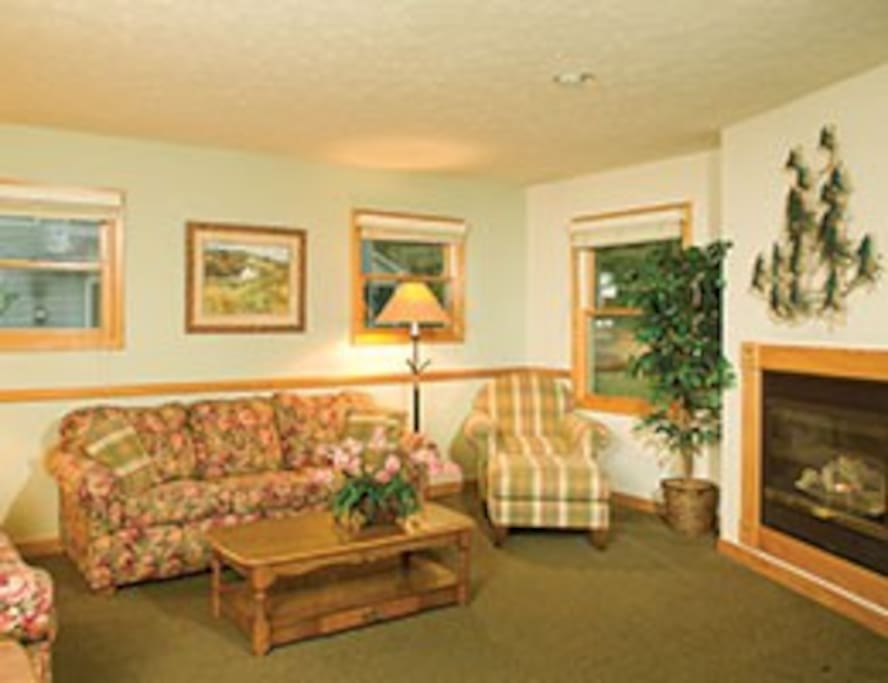 VERY SPACIOUS LIVING ROOM AREA - GREAT FOR FRIENDS AND FAMILY