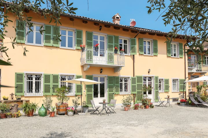 "Apartment ""Doppio"", 2 Personen, 30 m², günstig - Agliano Terme - Bed & Breakfast"