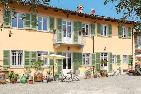"Apartment ""Doppio"", 2 Persons, 30m², cozy - Agliano Terme - 家庭式旅館"