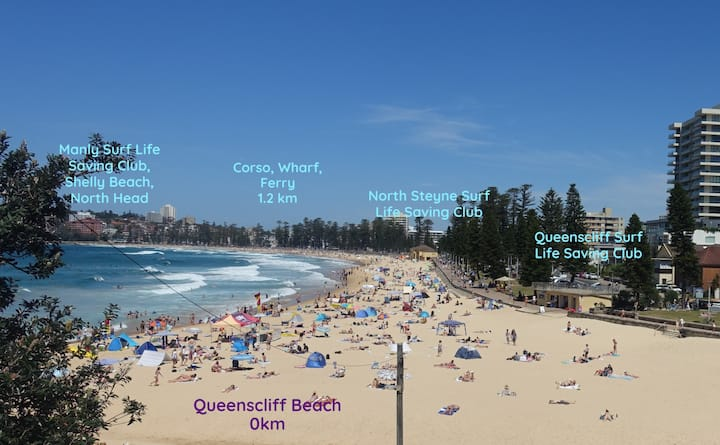 Manly Beach one of the top 10 beaches of the world