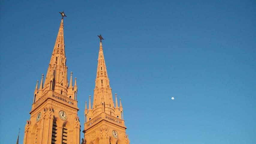 Basílica de Luján, a 15 minutos a pié desde el departamento