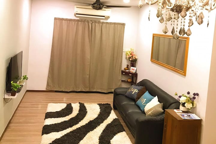 Sabah, kk airbnb homestay 马来西亚-东马-亞庇-民宿-fit 11pax