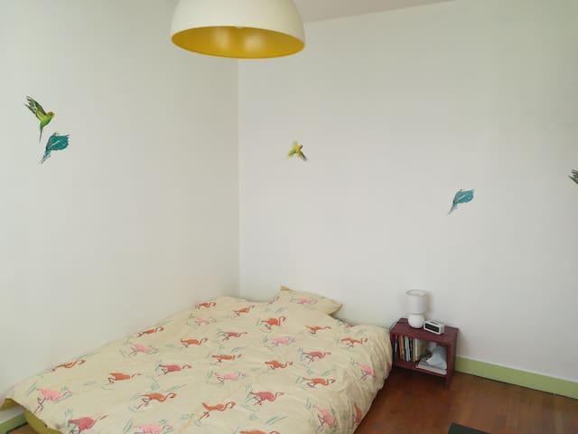 Jolie chambre dans appartement