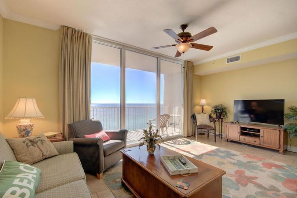 With spectacular views of Panama City Beach