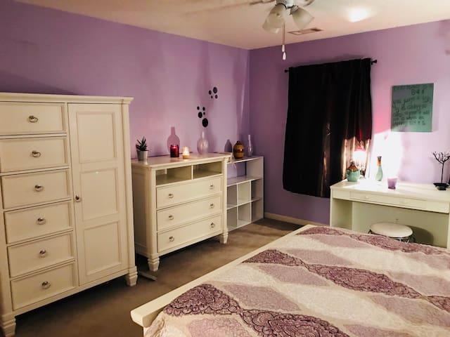 The space in your private bedroom