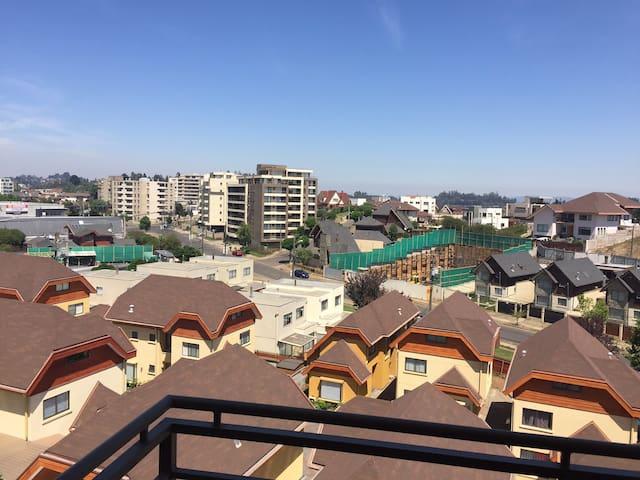 Habitación cerca de Aeropuerto y Mall del Trébol - Concepción - Wohnung