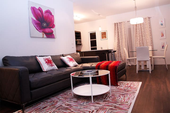 3 bedrooms near downtown Montreal