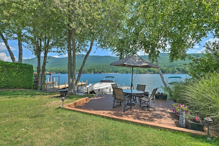NEW! Waterfront Home on Lake George w/ Boat Dock!