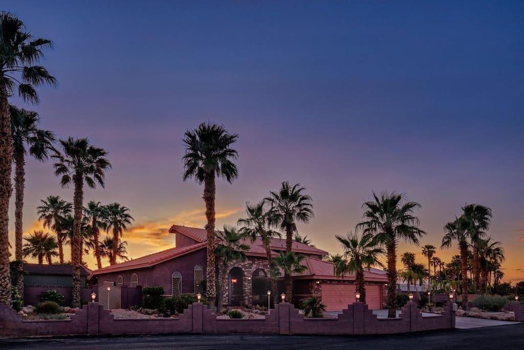 Z House Sunset