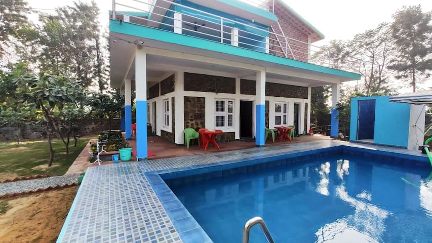 A V Farms 3BHk with Private Pool