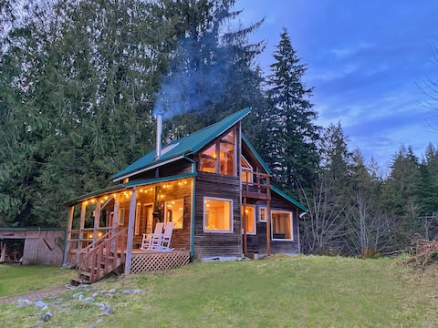 NEW LISTING :: Rustic Cabin with Big Views