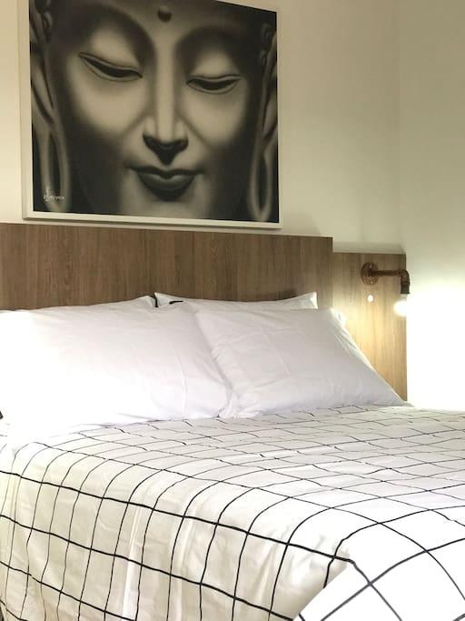 Cama de verdade - Real bed
