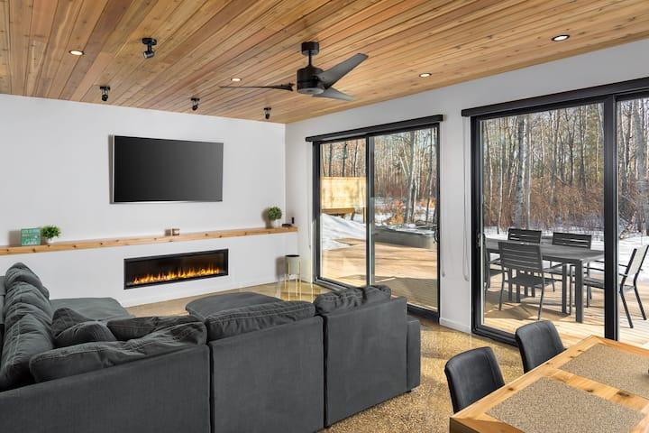 Luxury Cabins # 4 Bears Den, Clear Lake