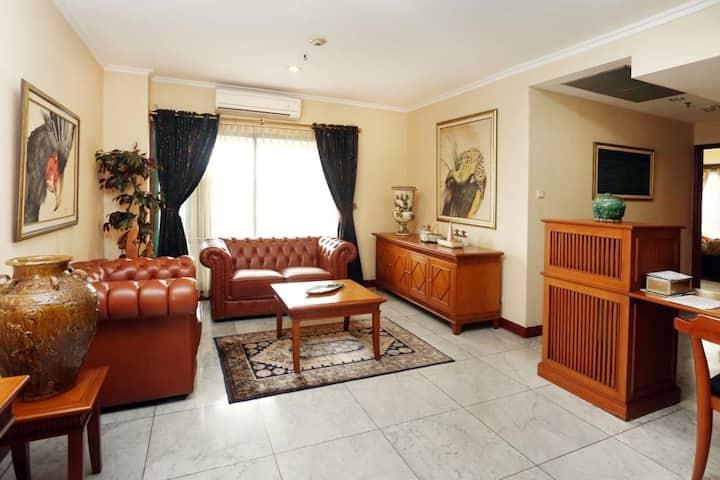 Spacious private apartment