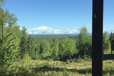 Talkeetna-Talkeetna cabin - amazing view of Denali
