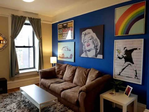 Stylish & Ample 1PBR STAYCATION SPACE For You