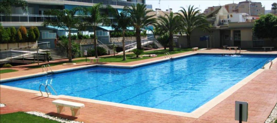 Gandia, T3 lujo, 800m de la playa - Gandia - Apartment