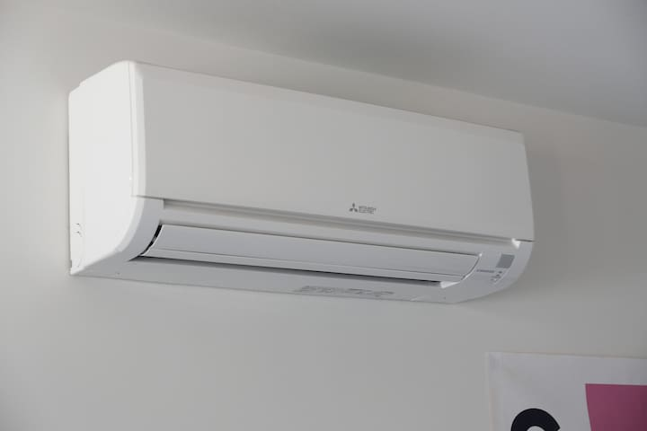 Energy conscious and powerful Air-Conditioning unit for warm summer days and cold winter nights.