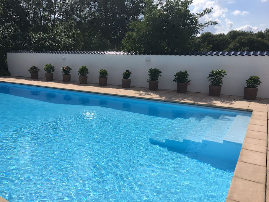 6x12m pool. Heating of pool is possible on request.