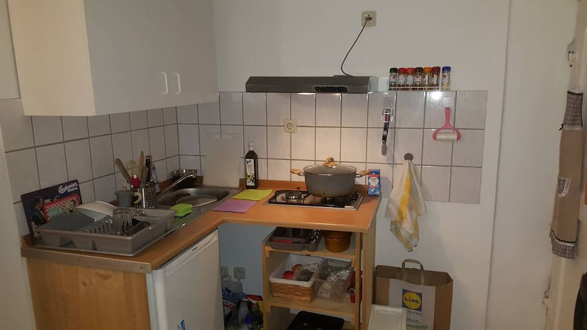 A cozy studio in the heart of Marburg
