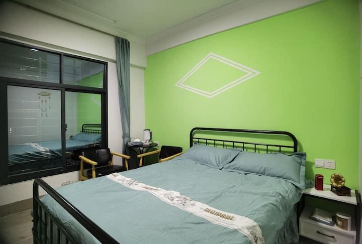 周舍-绿色小清新单间公寓