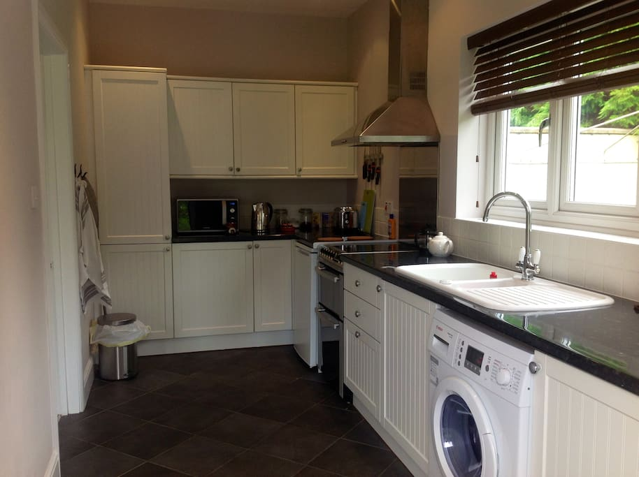Fully fitted private kitchen