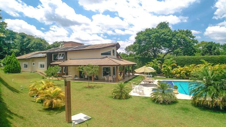 Chácara em Itatiba - Lazer/Home Office (WiFi 50MB)
