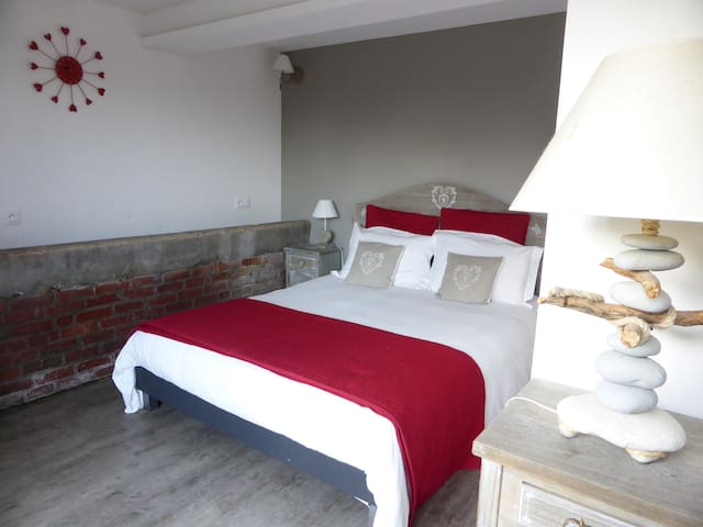 Chambre Côté Jardin à 2 - Eslettes - Bed & Breakfast