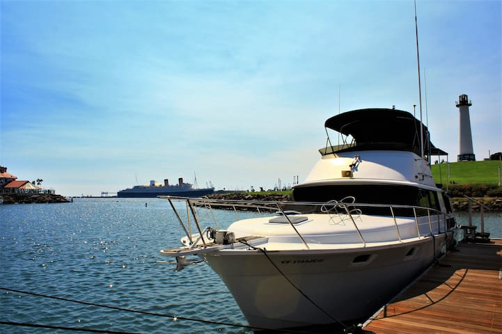 Spend the Night on a Yacht in Long Beach!