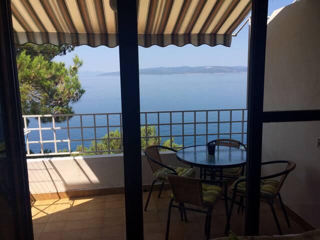 Makarska Riviera, ocean view oasis. - Krvavica - Appartement