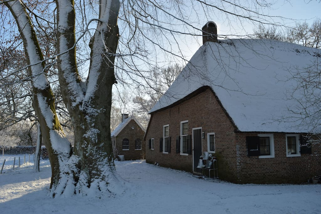 The B&B in wintertime.
