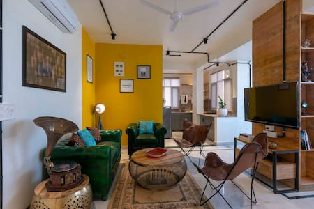 🔔Central terrace - Eclectic & Bright Pentahouse