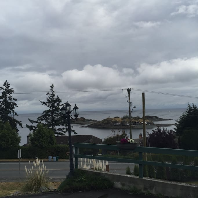 View of Shack Island from across the street