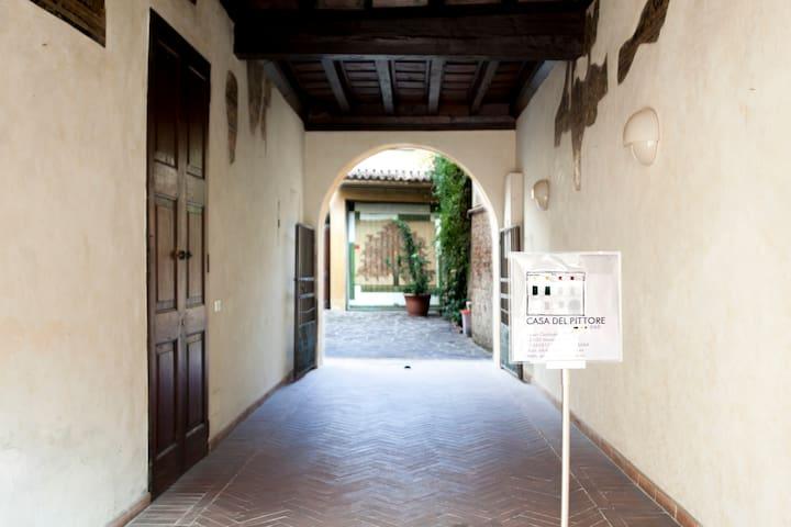 La Casa del Pittore Suite Arancio - Mantova - Huis
