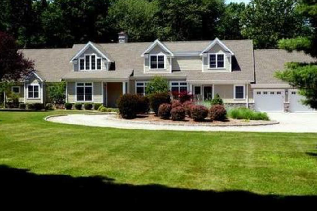 Over 1 acre of luscious landscape for outdoor fun!
