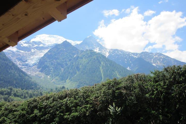 Appartement vue Mont-Blanc - T3 - 70 m²
