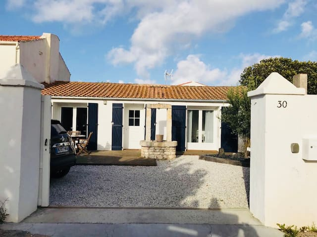 La Cotinière maison Oléronaise à 150m de la plage