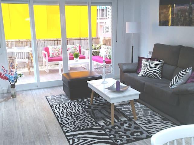 apartamento espectacular. 1. linea. WIFI gratis