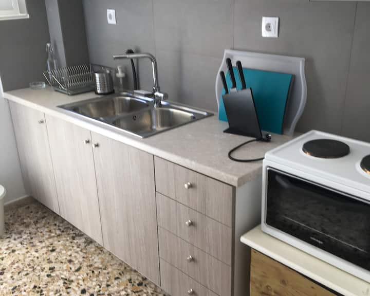 Cozy one-bedroom apartment in city center 2 guests
