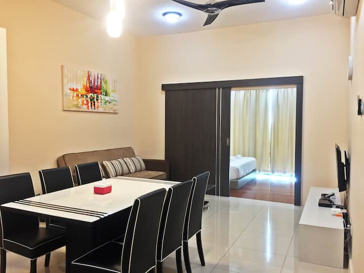 Homey King 1-Bedroom Apt @ IMAGO Mall
