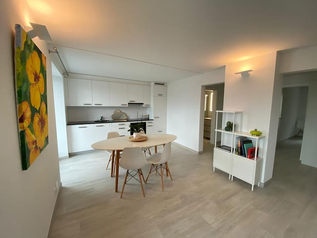 Appartement neuf, vue imprenable sur le lac Léman