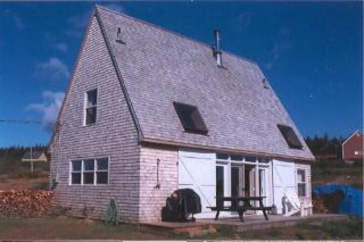 The Kingsburg Beach House (on the beach!)