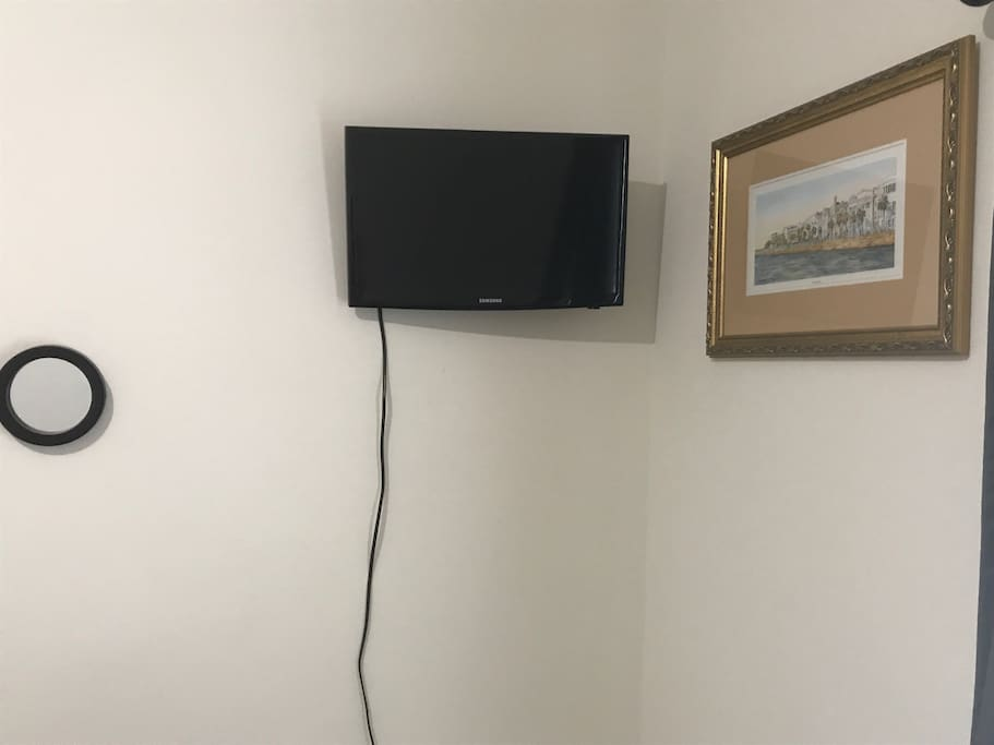 Private TV in the room