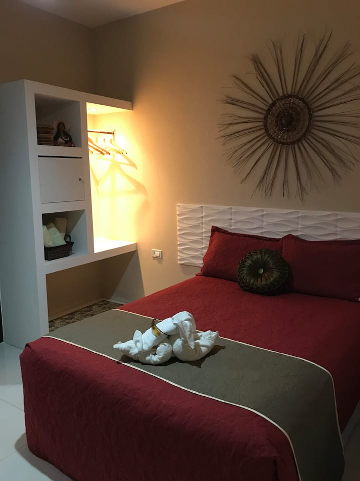 Flat Flor do Caribe- Quarto Suite