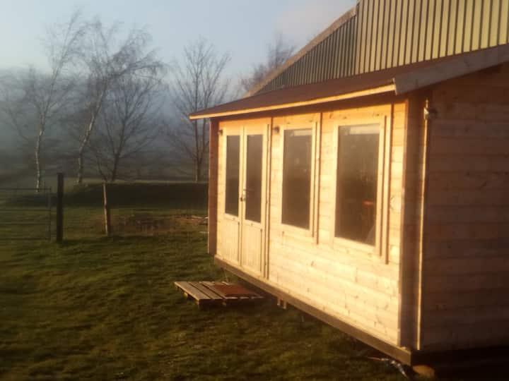 Glamping Log Cabin