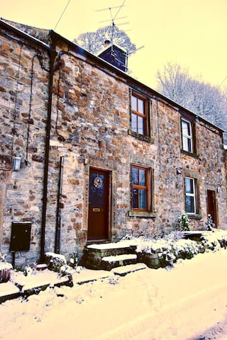 A charming two bedroom stone cottage